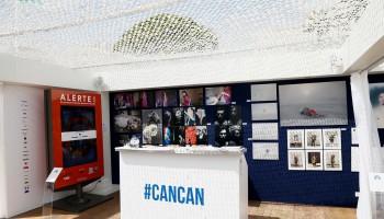 Salon du Lions création d'un espace d'exposition sur la plage